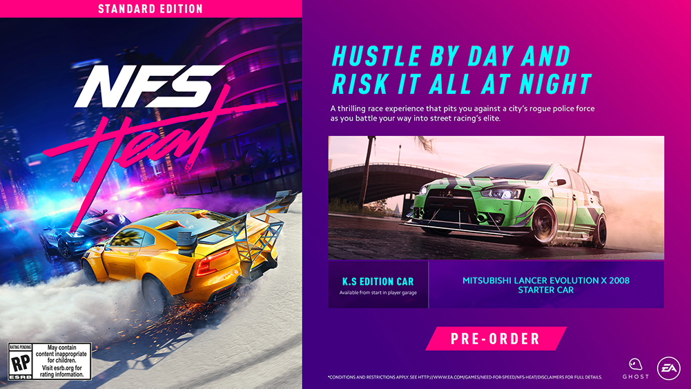 Need For Speed Heat Deluxe L Ps4 Playstation Price In Pakistan