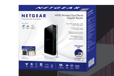 NETGEAR WNDR4500-100NAR N900 Wireless Dual Band Gigabit Router IEEE  802 11a/b/g/n