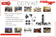 Star Tech Cctv 4 Cameras DVR Complete Security System Price in Pakistan