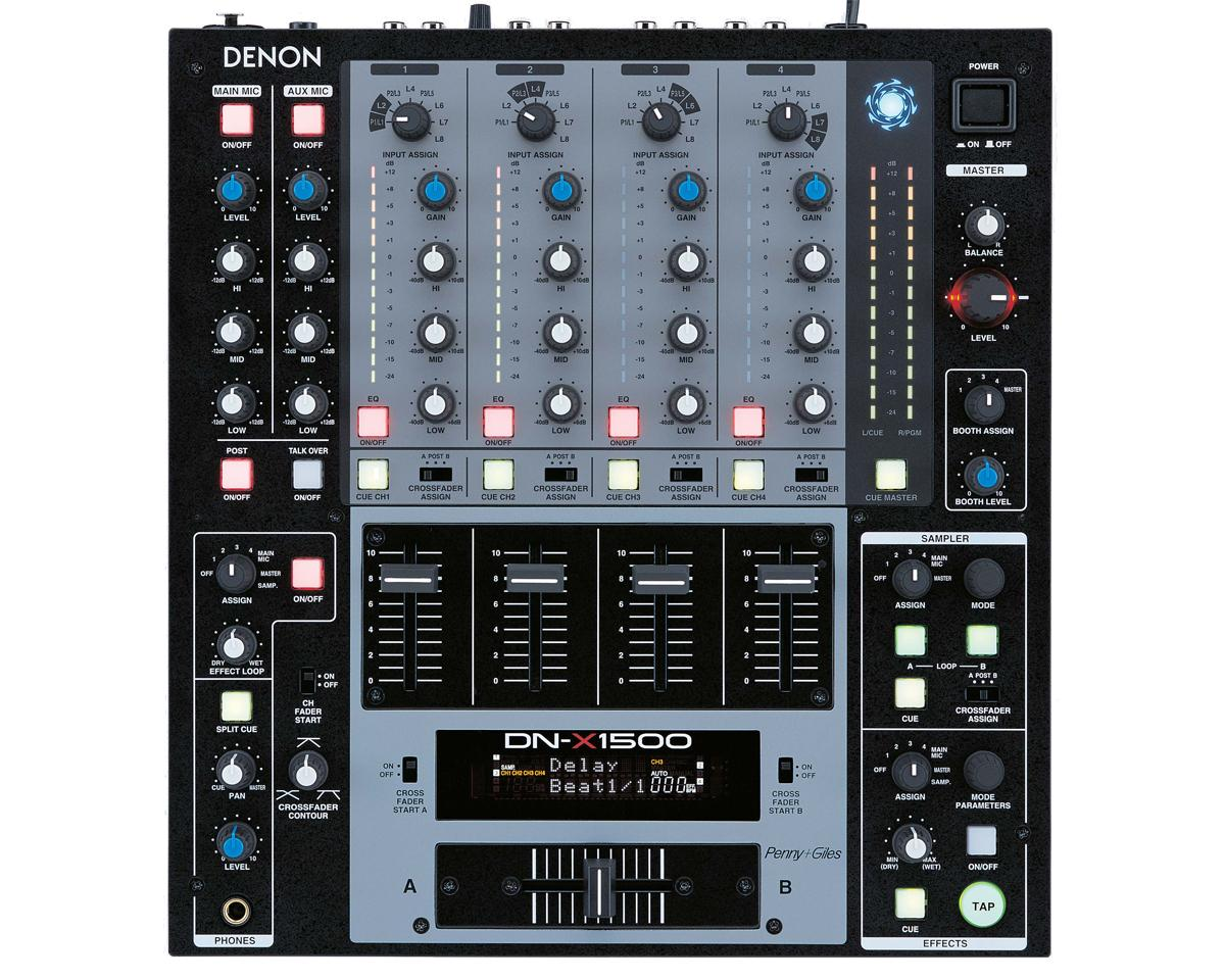 Denon DN-X1500 PROFESSIONAL DIGITAL MIXER