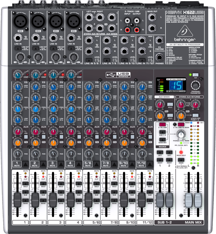 Behringer Audio Mixer XENYX X1622USB Price In Pakistan
