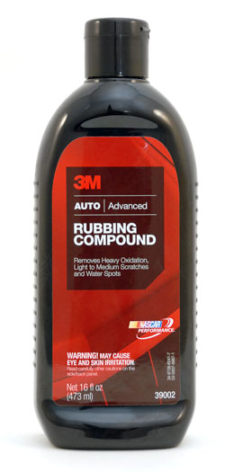 3M 39002 Rubbing compound DIY (473 ml)