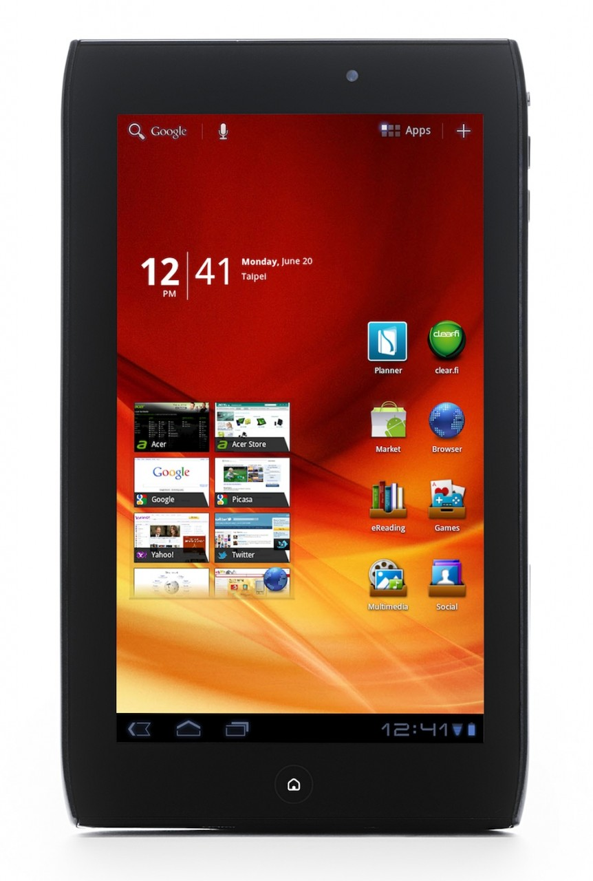 Acer iconia tab a100 характеристики - 94c5a