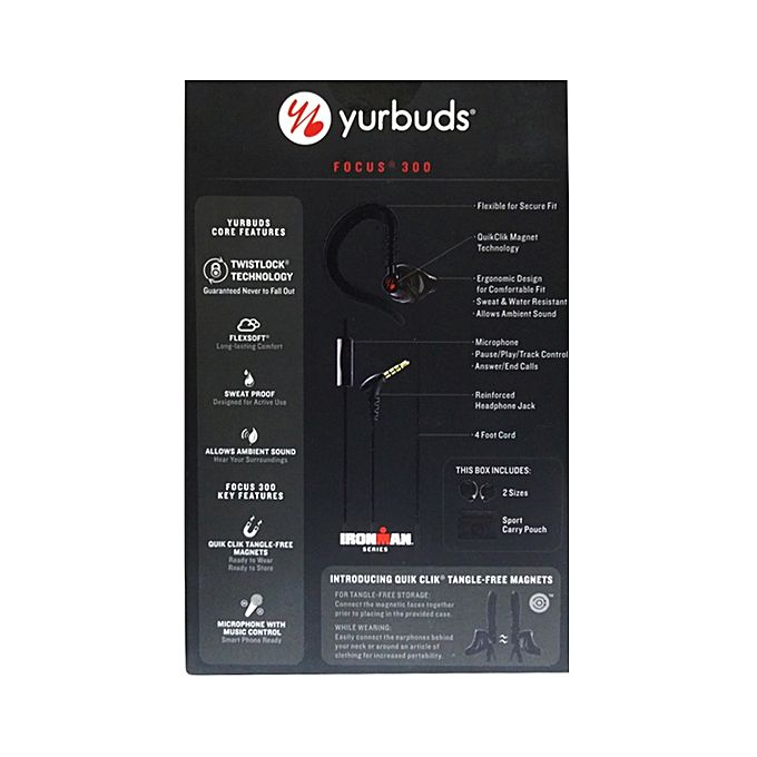 ee116b19fc4 JBL Yurbuds Focus 300 Sweat Pro Price in Pakistan - HomeS
