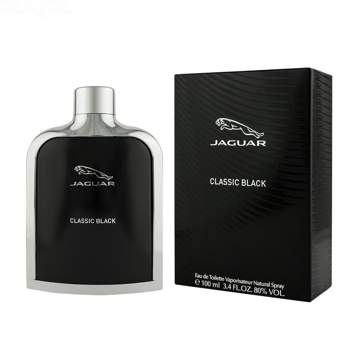 jaguar classic black for men edt 100ml home shopping. Black Bedroom Furniture Sets. Home Design Ideas
