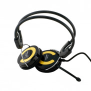 CROWN Portable Pc Headset CMH940y Yellow Price in Pakistan