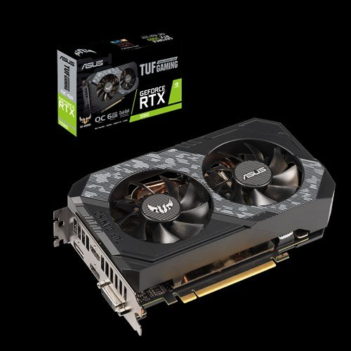 ASUS TUF Gaming GeForce RTX 2060 6GB GDDR6 192Bit Graphics Card  (TUF-RTX2060-O6G-GAMING) - 3 Years Limited Warranty