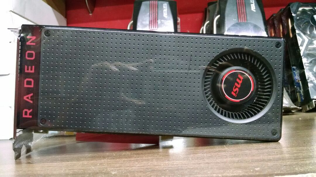 MSI AMD RX 480 GAMING X 8GB 256Bit (USED) in Good Condition