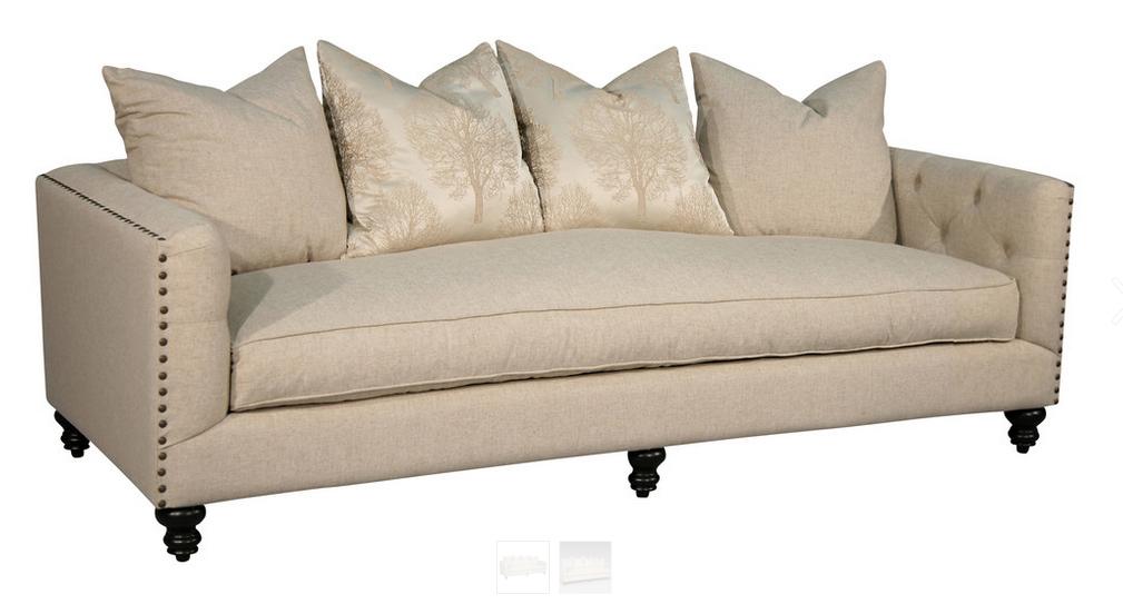 topanga sofa pwsb013 24 home shopping. Black Bedroom Furniture Sets. Home Design Ideas