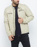 Fifth Avenue Offwhite Mix Cotton Jacket for Men 16821W13 in Pakistan