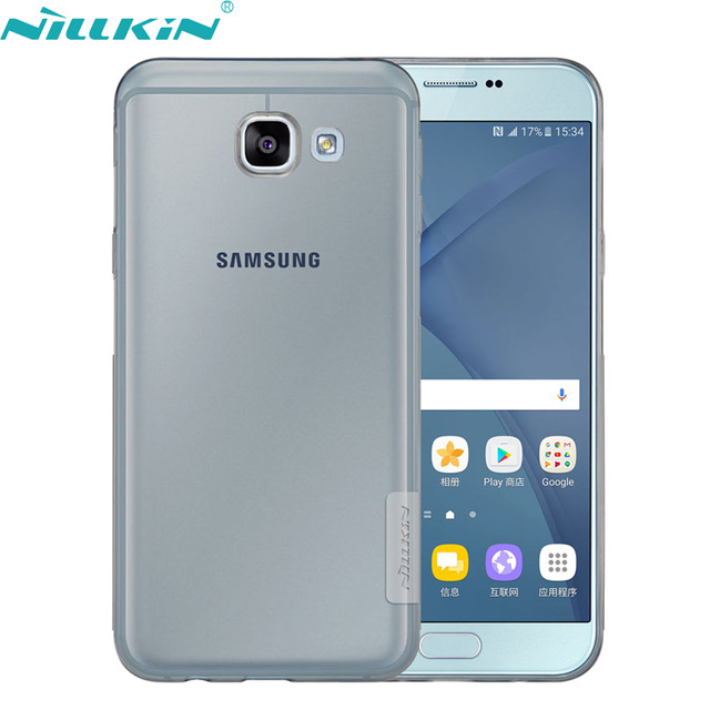meet 0fd43 2cb5b Nillkin TPU Case For Samsung Galaxy A8 Grey Price In Pakistan