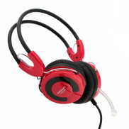 CROWN Portable Pc Headset CMH943r Red Price in Pakistan