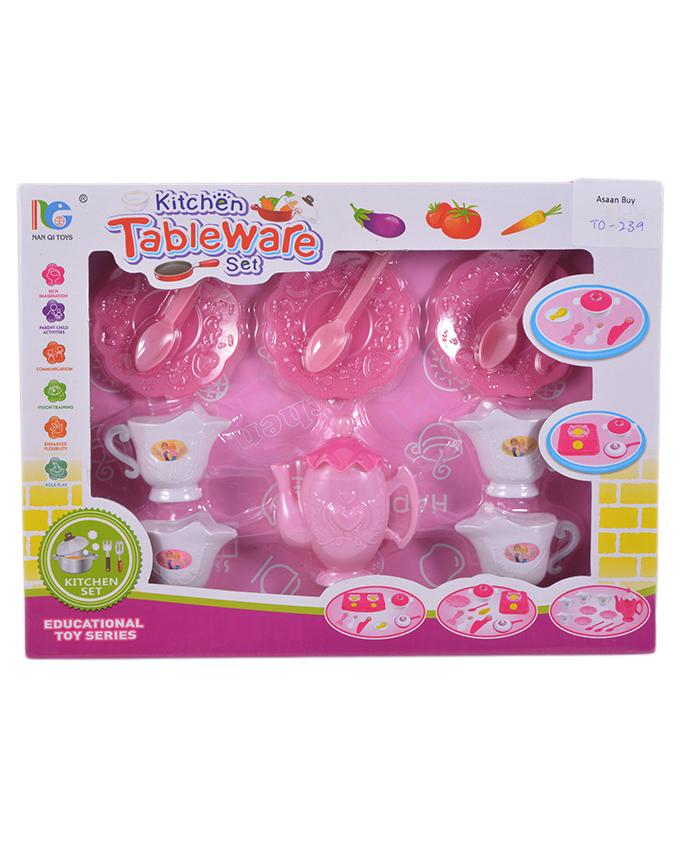 Kitchen Tableware Set Educational Toy For Kids 8x10 Inch Price In