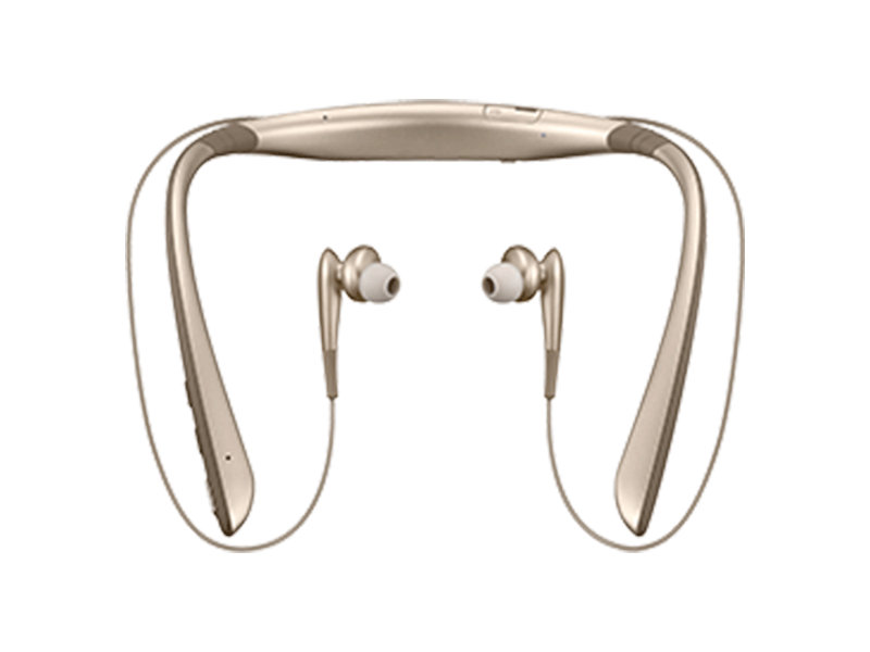 44d33f8cbae Samsung Level U PRO Wireless Headphones (Gold) - Home Sho