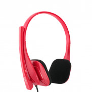 CROWN Portable Pc Headset CMH941r Red Price in Pakistan