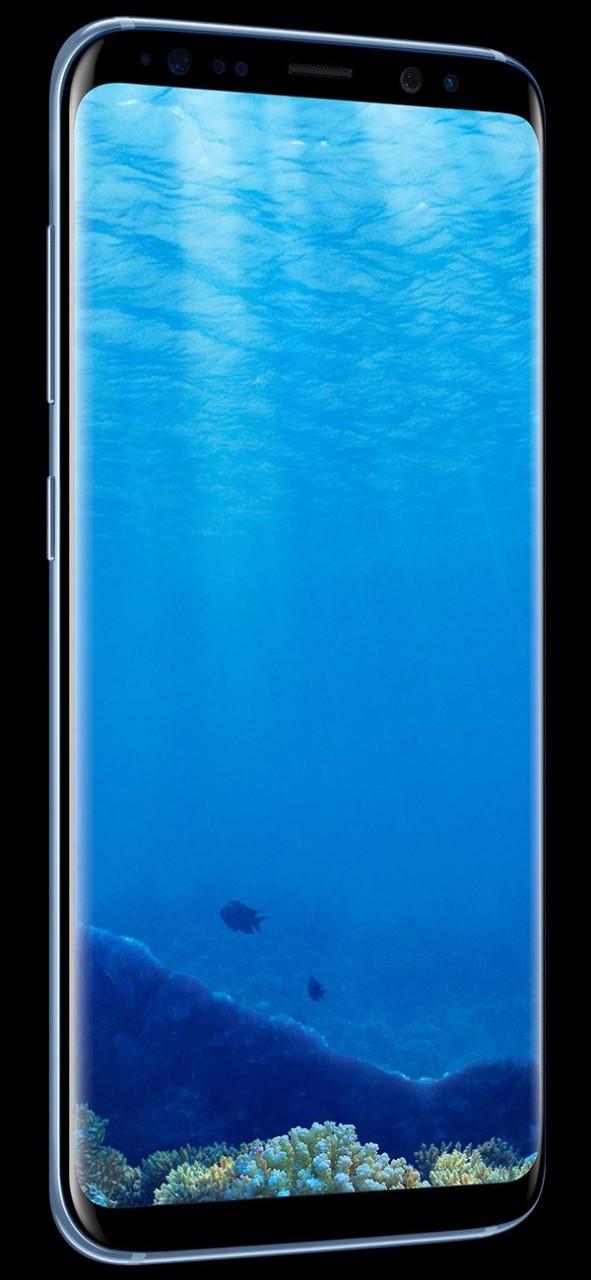 Samsung Galaxy S8 Plus G955FD Dual Sim (4G, 64GB, Coral Blue) Official  Warranty