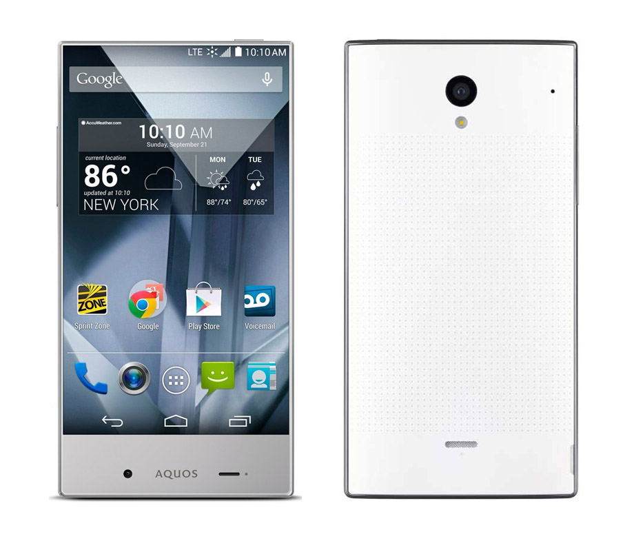 Aquos Crystal Phone 305SH 2GB RAM 8GB Memory 4 5
