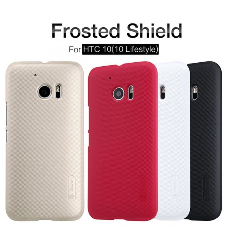 best website 0894b f45c6 Nillkin Super Frosted Back Cover HTC M10
