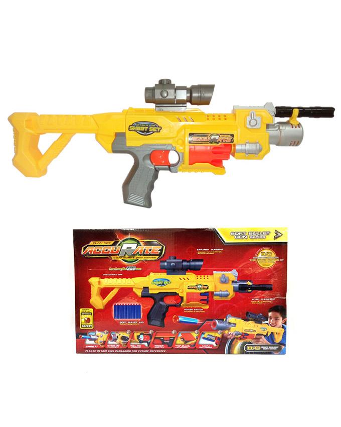 Accurate Soft Dart Nerf Machine Gun 20 Inch Px10369 Price In