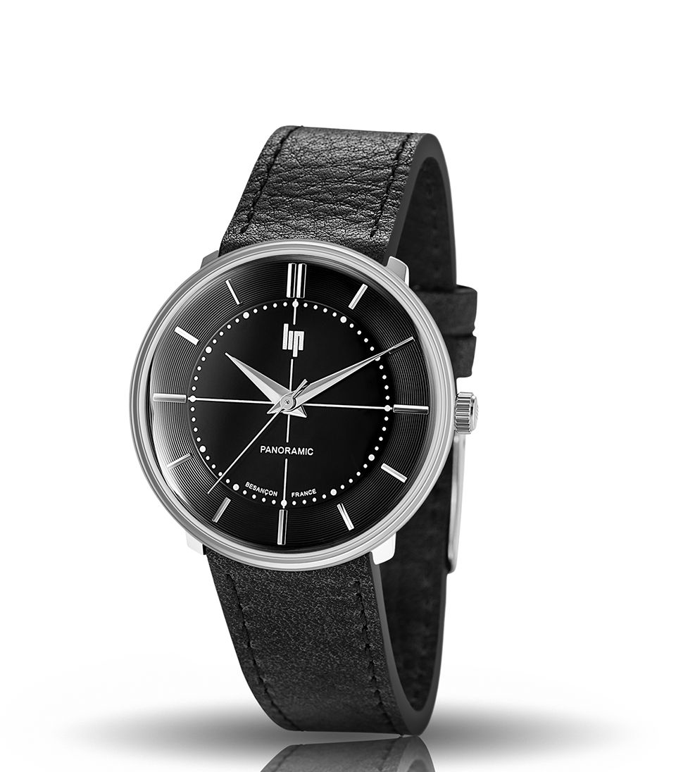 Lip panoramic black target watch best retail price in p for Retail price watches