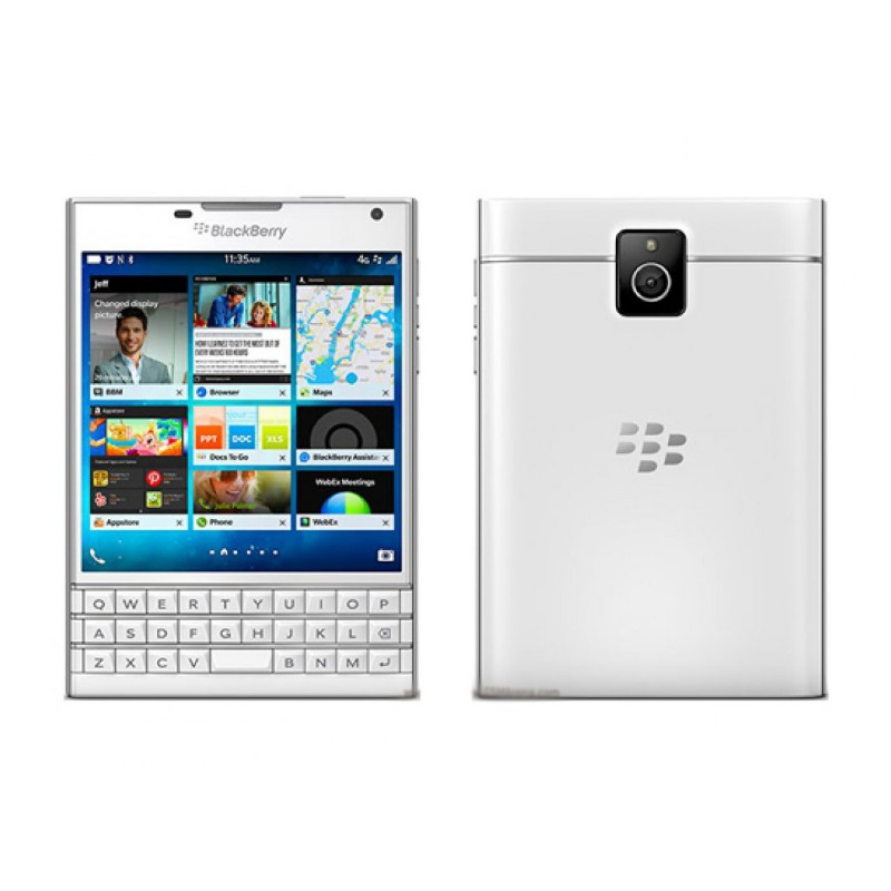 BlackBerry Passport (4G, 32GB, White)