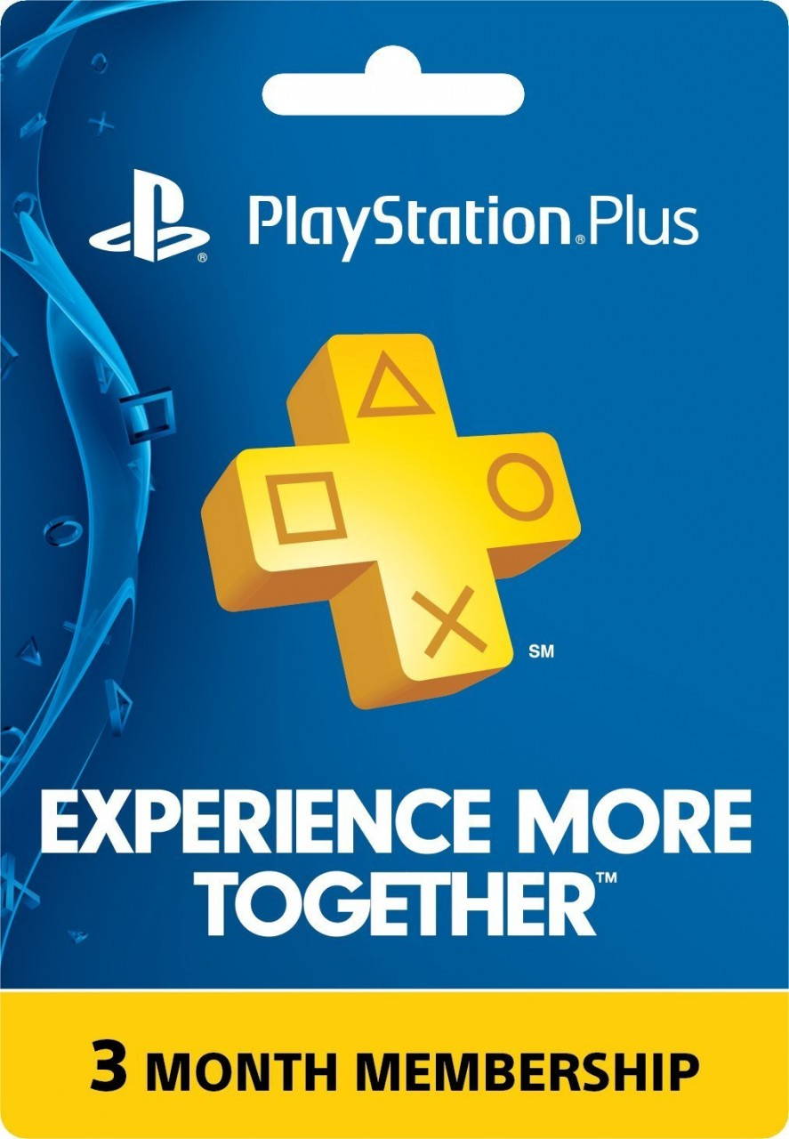 3 month playstation plus membership ps3 ps4 ps vita price. Black Bedroom Furniture Sets. Home Design Ideas