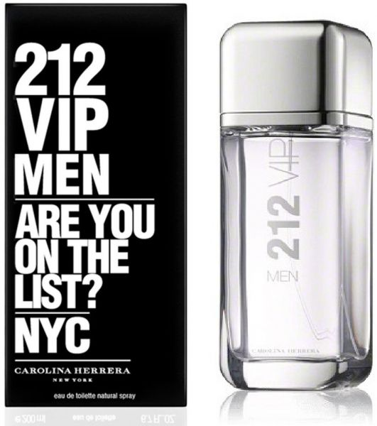 212 VIP Men by Carolina Herrera for Men - Eau de Toilette, 200ml 222720ddd6