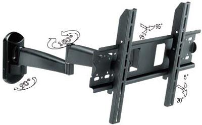 corner movable wall mount bracket for 26 40 pakistan. Black Bedroom Furniture Sets. Home Design Ideas