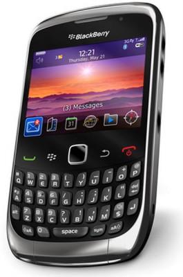BlackBerry Curve 3G 9300 (Black) 1