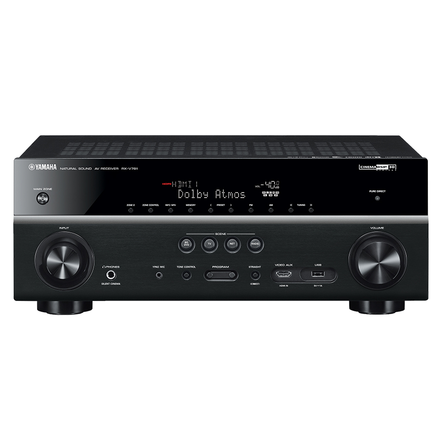 YAMAHA RX-V781 7 2-channel AV Receiver