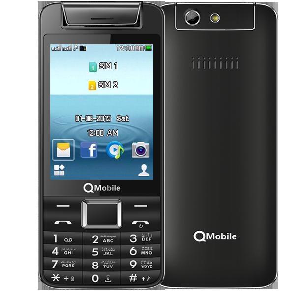 QMobile XL50 Dual Sim Black price In Pakistan