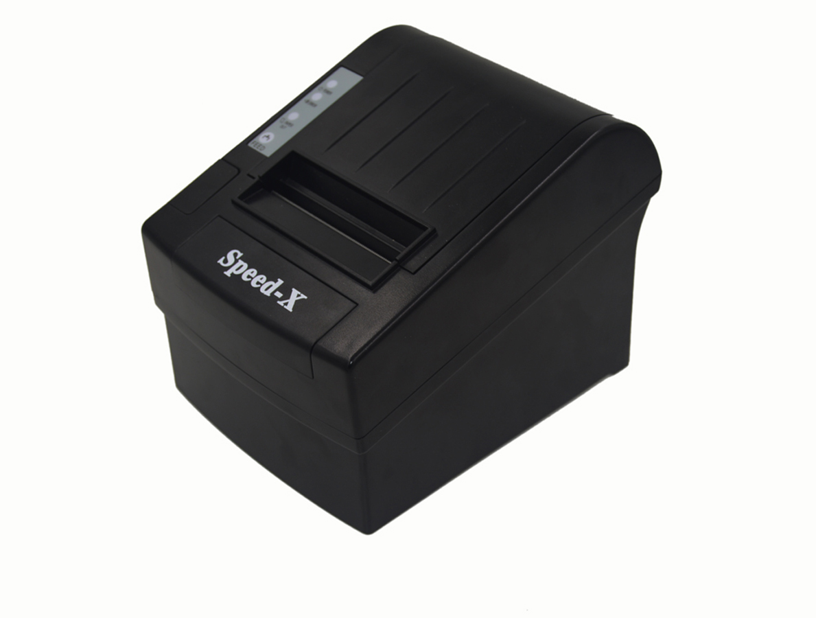 8220-03__36695_zoom Speed-x SP-X300 Thermal Receipt Printer Usb+RS232+LAN - Black