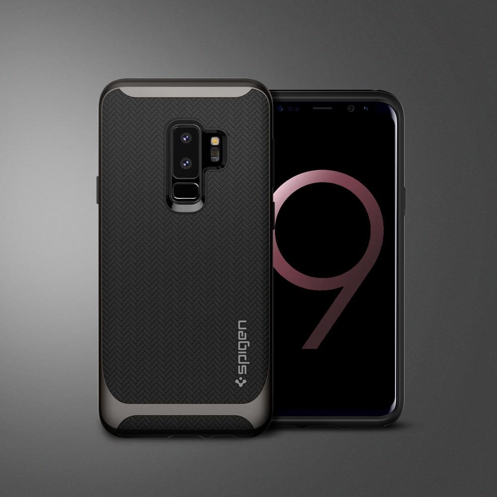 best website af59d ca7e9 Samsung Galaxy S9 Plus Spigen Original Neo Hybrid Dual Layer Case - Gunmetal