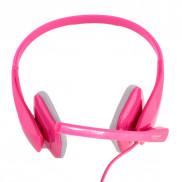 CROWN Portable Pc Headset CMH941pk Pink Price in Pakistan