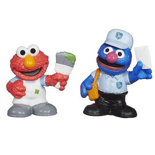 Hasbro Playskool Sesame Street Figures 2-Pack - Elmo and Grover