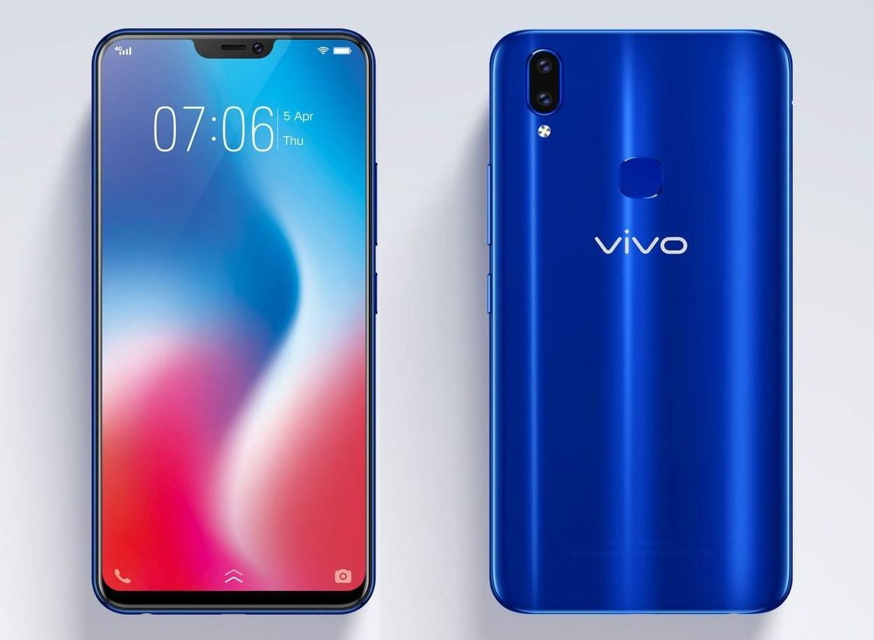 Vivo V9 Dual Sim Blue Price In Pakistan Home Shopping