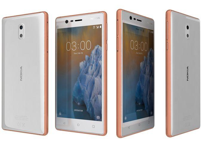 Nokia 3 Copper White Price In Pakistan Home Shopping