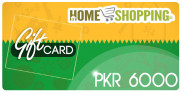 Homeshopping Gift Card PKR 6000 In Pakistan
