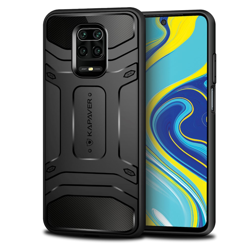 Kapaver Redmi Note 9 Pro 9s Rugged Case Black Price In Pakistan