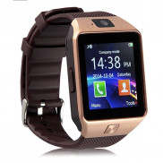 Android Smartwatch DZ09 Black Gold Price in Pakistan