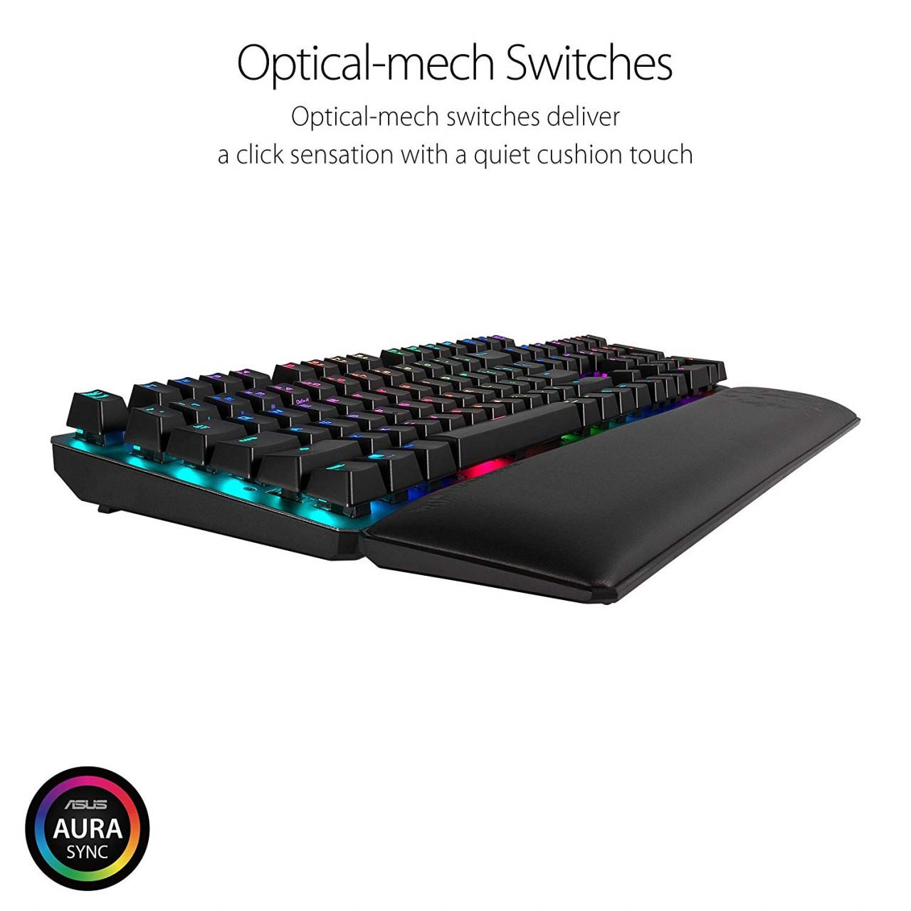 29ea68333e8 ASUS TUF Gaming K7 USB Mechanical RGB Keyboard Price In Pakistan