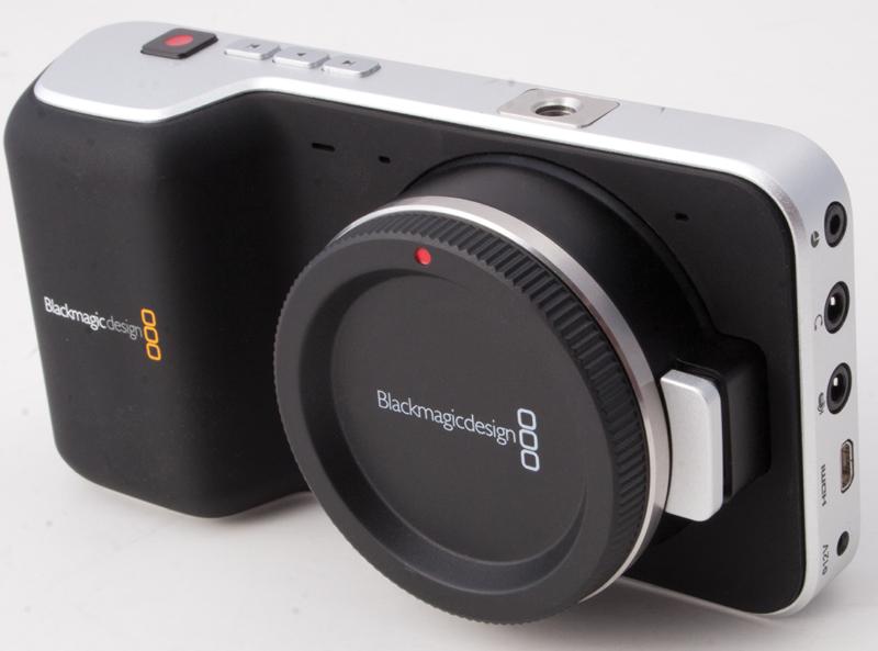 Black magic pocket camera
