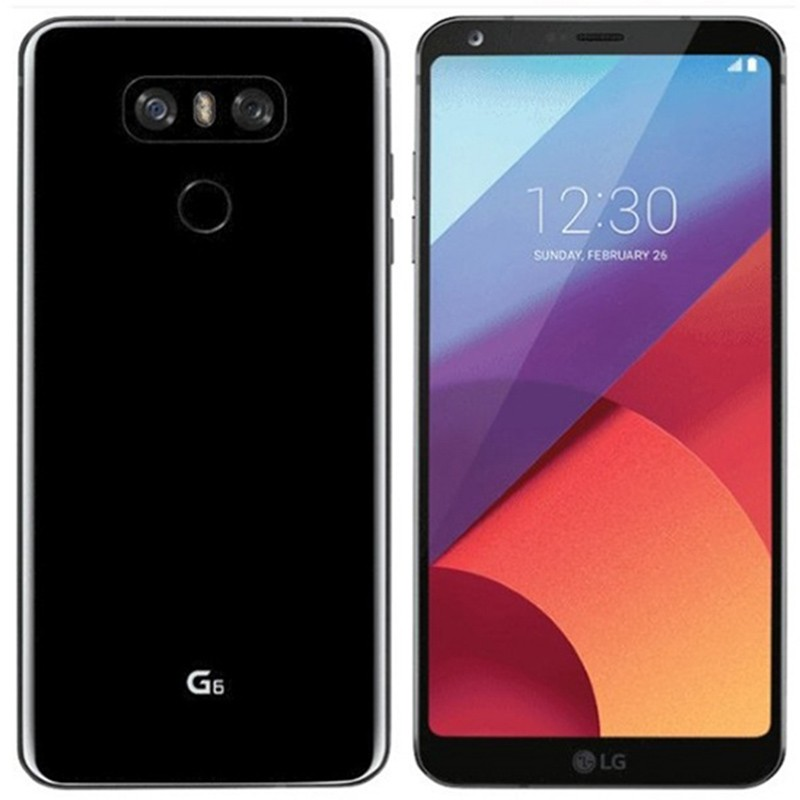 LG G6 H870DS Dual Sim (4G, 64GB, Astro Black)