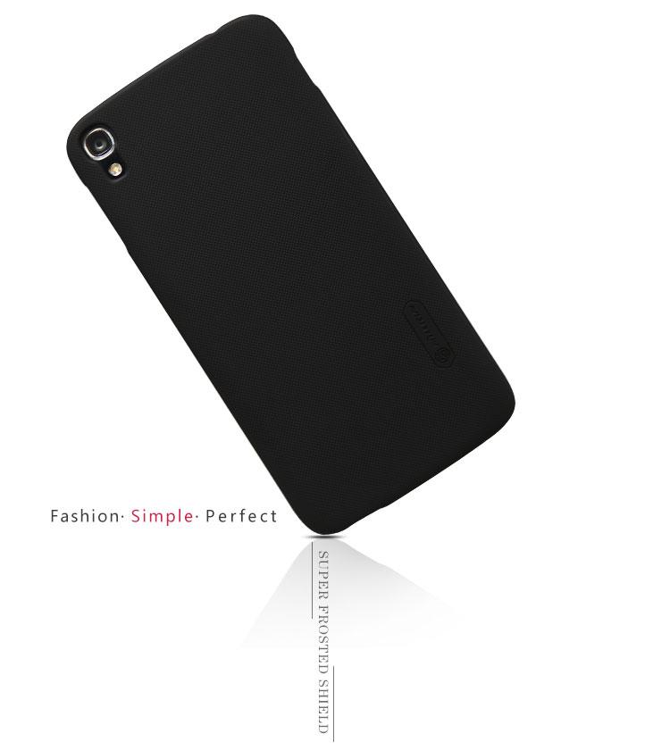 Nillkin Original Frosted Shield Back Cover For Alcatel Idol 3 (5 5) - Black