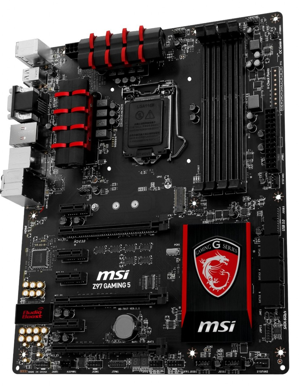 MSI Z97-Gaming 5 LGA 1150 Intel Z97 HDMI SATA 6Gb/s USB 3