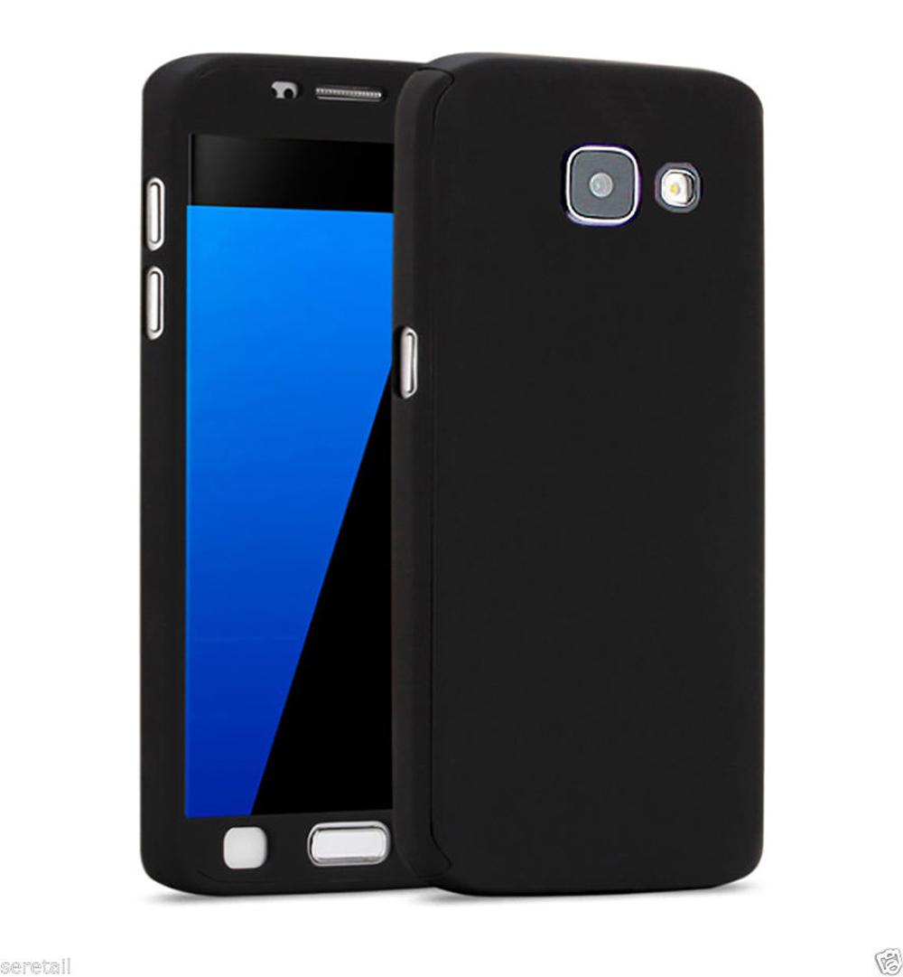 Full Protection 360 case for Samsung J5 Prime (Black) 2016