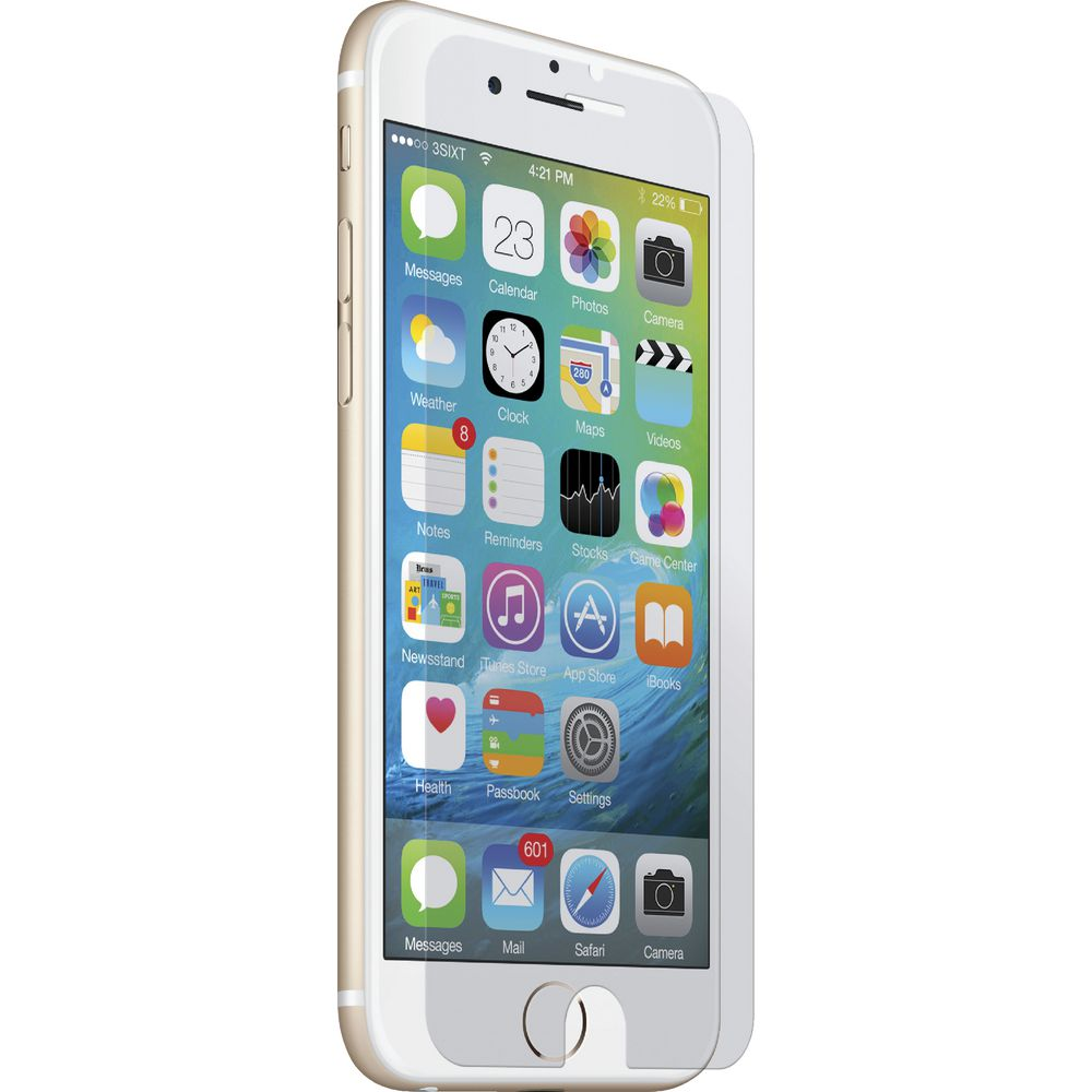 detailing 37eed 95aeb Tucano Edge to Edge Glass Screen Protector For iPhone 6s/ 7 White