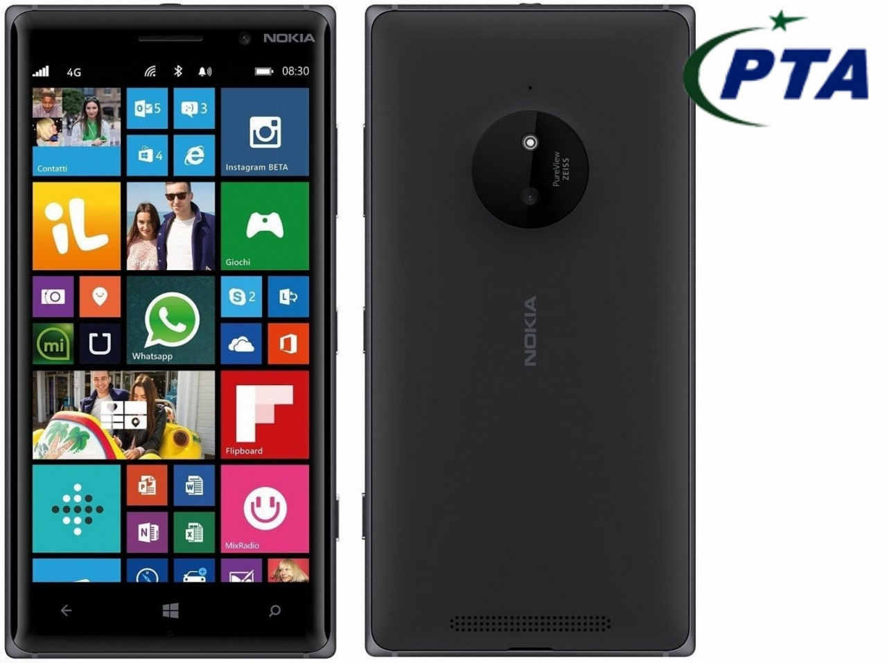 Nokia Lumia 830 Price in Pakistan (4G, 16GB, Black)