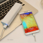 Yoobao Power Bank External Bakup Battery for iPhone Mobiles Tablet