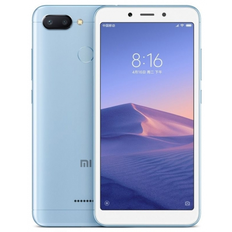 bad9ba22bdf Xiaomi Redmi 6 Blue 64GB Price in Pakistan - Home Shopping